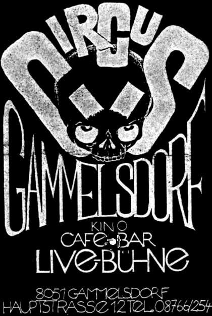 Plakat Circus Gammelsdorf